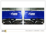 Бортовая реклама на грузовом транспорте