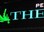 Световые объемные буквы для ресторана The Фиш, Бризат