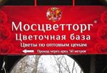 Световой короб на кронштейнах магазин Цветы, РПК Бризат