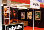 Световой короб Lucky Coffee, РПК Бризат