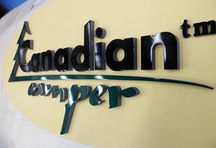 Вывески РПК Бризат. Вывеска Canadian Camper